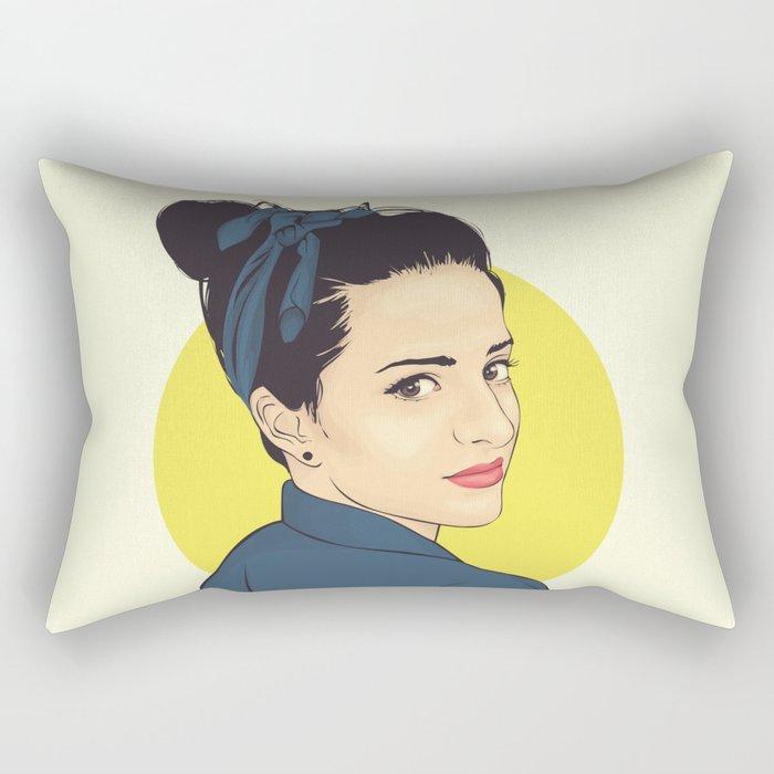 Lipstick Rectangular Pillow