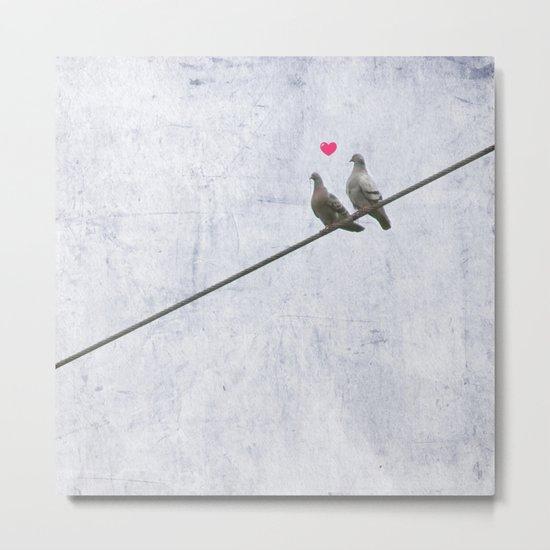 The Lovebirds Metal Print
