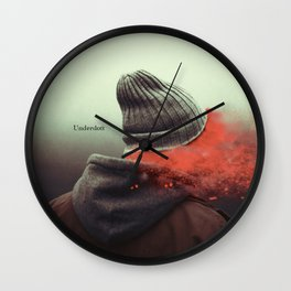 I am not here Wall Clock