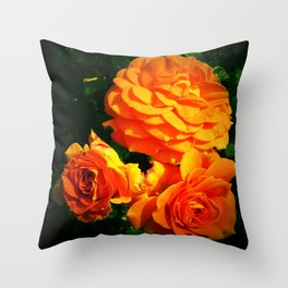 Rose Fragrance Throw Pillow