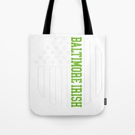 Baltimore Irish prints by Howdy Swag graphic Tote Bag