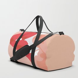 Kissing lips Duffle Bag
