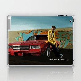 Aaron Paul as Jesse Pinkman & Chevy Montecarlo @ TV serie Breaking Bad Laptop & iPad Skin