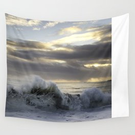 Wave of Love Wall Tapestry