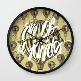 The courageous balloon dancer {one of a kind} Wall Clock