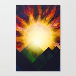 All i need is sunshine Canvas Print