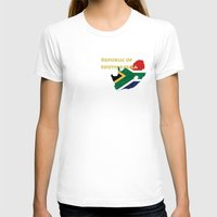south africa T-shirts featuring Republic of South Africa by Dandy Octopus