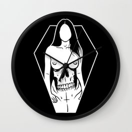Pretty Girls Make Graves Wall Clock