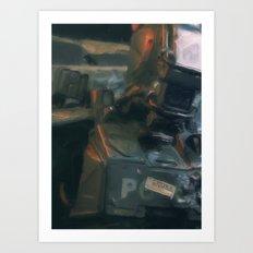 We are machines Art Print