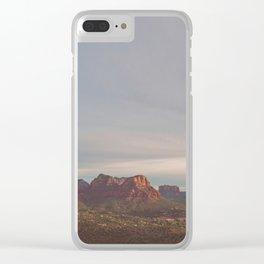 Sedona Arizona. Vortex No. 2 Clear iPhone Case