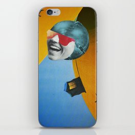 Collapsed Head iPhone Skin