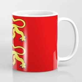 flag of normandie Coffee Mug