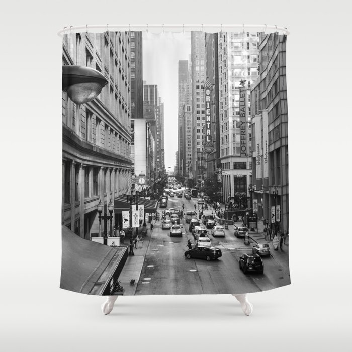 Chicago Street Shower Curtain