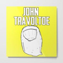 John Travoltoe Metal Print