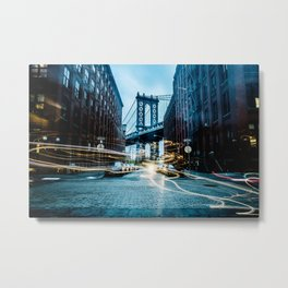 Brooklyn Bridge 2 Metal Print