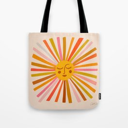 Sunshine – Retro Ochre Palette Tote Bag