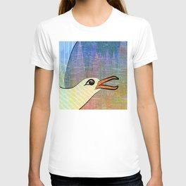 On the Cliffs with Jonathan Livingston Seagull T-shirt