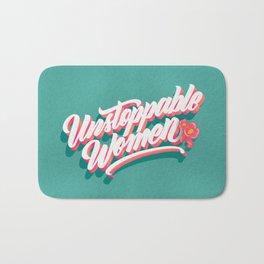 Unstoppable Women Bath Mat