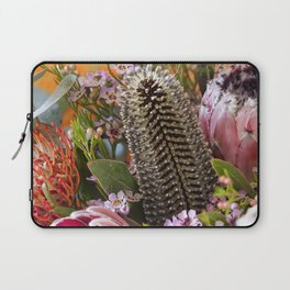 Banksia and Protea blooms Laptop Sleeve
