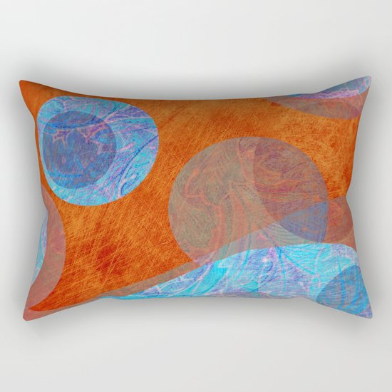 Relief Rectangular Pillow
