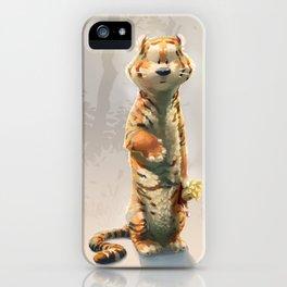 Hobbes iPhone Case