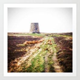 Northumberland Lead Flue Art Print