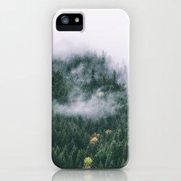 Forest Fog XVII iPhone Case