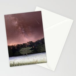 Milky Way Meteor Field Stationery Cards