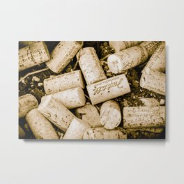 Cork Butts Metal Print