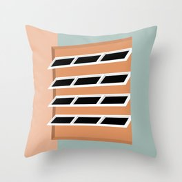 D1 Throw Pillow