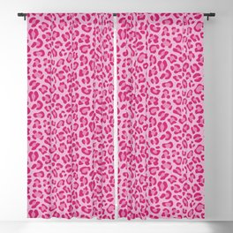 Leopard - Lilac and Pink Blackout Curtain