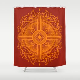 Zia Shower Curtain