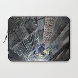 '跳下去的一秒 The Moment While Jumping off' Illustration 3 Laptop Sleeve