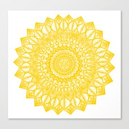 Sunshine-Yellow Canvas Print