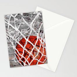 Basketball Art Stationery Cards