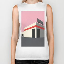 Sunset Warehouse Biker Tank
