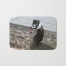 Squawking Canadian Goose Bath Mat