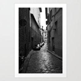 Alleyway (Florence) Art Print