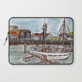 The Harbour, Figueira Da Foz, Portugal Laptop Sleeve