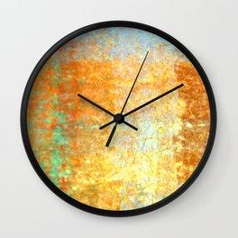 Textured Layered Abstract Wall Clock