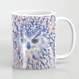 Fluffy owl Coffee Mug