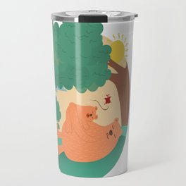 bear-ther and daughter-ooo nina bobo Travel Mug