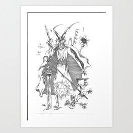 Magician of the Major Arcana Art Print