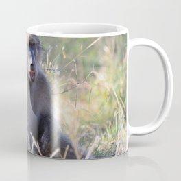 """""""Hey, whassup,"""" said the Baboon Coffee Mug"""
