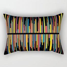 LINE w/black Rectangular Pillow