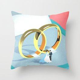 Wedding Throw Pillow