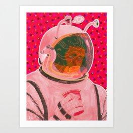 Party Astronaut Art Print