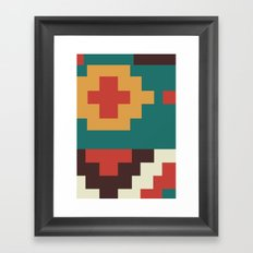 UFOlk 2 Framed Art Print