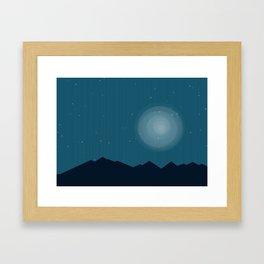 Night Vision Framed Art Print