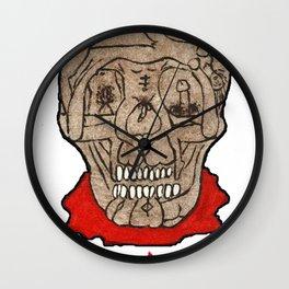 Acid Bath Clown Wall Clock